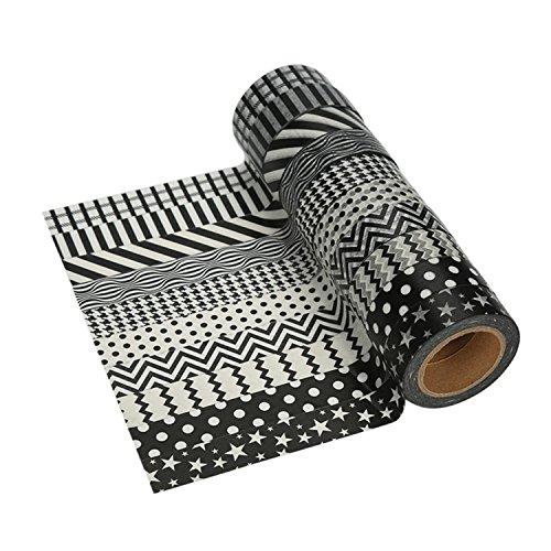 Tape-Bänder zum Verzieren, Verpacken und mehr (10er Set)
