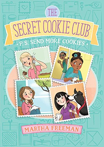 P.S. Send More Cookies (The Secret Cookie Club, Band 3) S/s Cookie