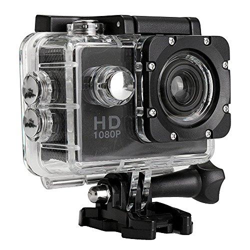 Altsommer Action Cam Wasserdichtes Kamera, Wasserdichte Full HD 1080P Sport Action Kamera mit DVR Cam DV Video Camcorder für Gopro Hero 7/6/4/5 /1/2 /3/3+ Nikon Sony, Unterwasser Fotografie
