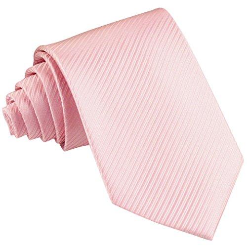 Panegy Corbata Pre-atada con Textura Bow Tie para Traje Formal Hombre Chico Fiesta - Rosa