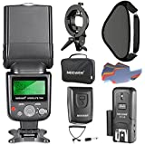 Neewer 750II TTL Flash Speedlite Kit For Nikon DSLR Cameras, Includes Flash Light, CT-16 Wireless Trigger, 16x16 Inches/40x40 Centimeters Softbox With S-Type Bracket And 20 Pieces Color Filter