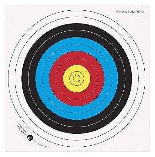 Petron Papier Target Face 80 cm, 10 Stück Gr. Einheitsgröße,  - Unspecified