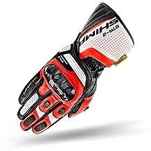 SHIMA STR-2, motorhandschoenen, touchscreen, zomer, leer, sport stad, motorower, Nudebike, Supermoto, Sport X-Large Red Fluo