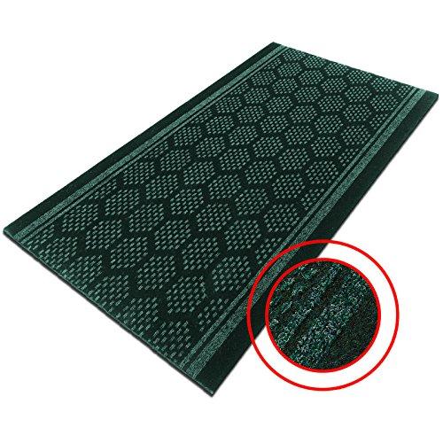 casa-purar-bilbao-heavy-duty-non-slip-runner-mat-green-decorative-pattern-with-gel-foam-backing-80-x