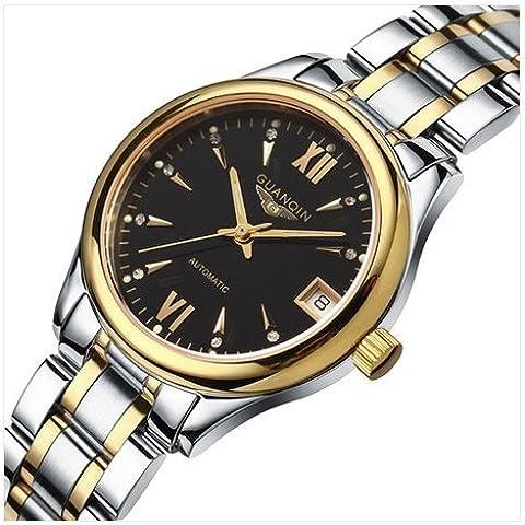downj Donna al quarzo Luxury Brand impermeabile ultra luminoso, zaffiro donna Orologi - Seiko Moon Watch