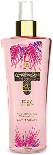 Chris Adams Perfumes Active Woman Bodysplash For Women, 250 ml