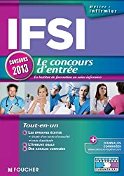 IFSI Le concours d'entrée concours 2013