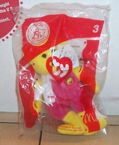 2004 Mcdonalds Ty Beanie Baby Birdie the Bear Happy Meal Toy...