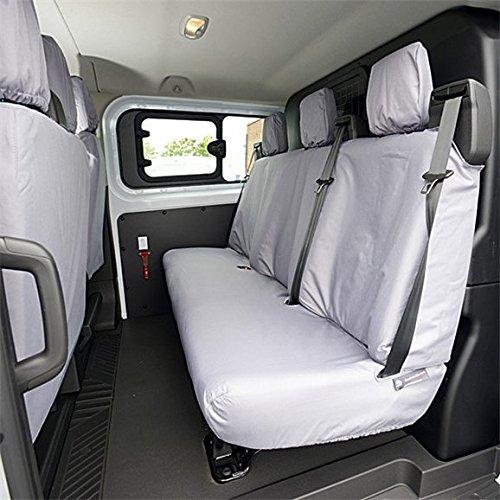 Coprisedili su misura per Ford Transit Tourneo-Seconda fila (2013-) (Grigio Su Misura Seat Covers)