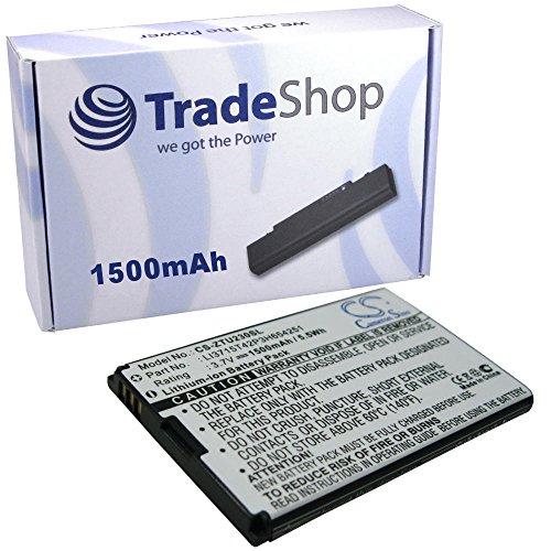 Hochleistungs Li-Ion Akku 3,6V/3,7V/1500mAh für ZTE A6 AC30 Arizona D800 D810 F165 Groove Joe MF30 MF30 A6 WiFi Router MF60 MF61 N960 P728B R750 Racer II