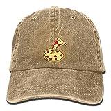 HRFKJYXG Uomo Donna Classico Denim Formaggio Pizza Cartone Animato Berretto da Baseball Regolabile Cappello papà Profilo Basso Perfetto per Esterni