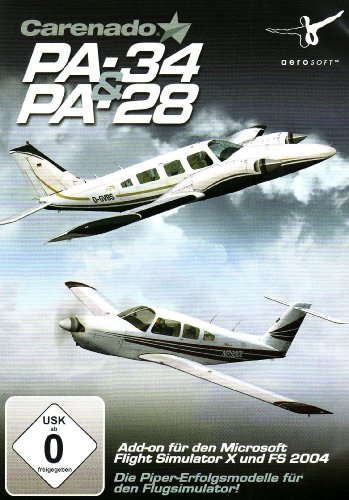 Carenado PA28 & PA34 (Add-on für den Microsoft Flight Simulator X/2004) [import allemand]