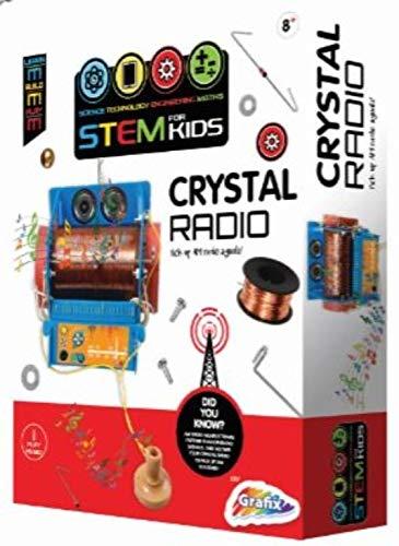 Science Club Baue Dein eigenes Crystal Radio Kit Detektor Radio
