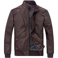 ZSHOW uomini aggiungere lana faux giacca lavata cappotto di