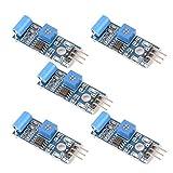 Gaoxing Tech. 5PCS SW 420 Bewegungs Sensor Modul Erschütterungs Schalter Warnungs Sensor Modul für Arduino