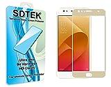 ASUS ZenFone 4 Selfie (ZD553KL) (ZD553KL) [Or] Couverture Complète Verre Trempé SDTEK Protecteur écran Protection Résistant aux éraflures Glass Screen Protector Vitre Tempered
