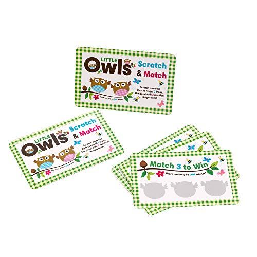 Neviti Little Owls Rubbelspiel