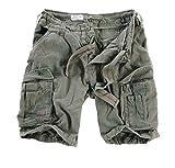 Surplus Herren Shorts Airborne Vintage Mod. 2013, Oliv, S