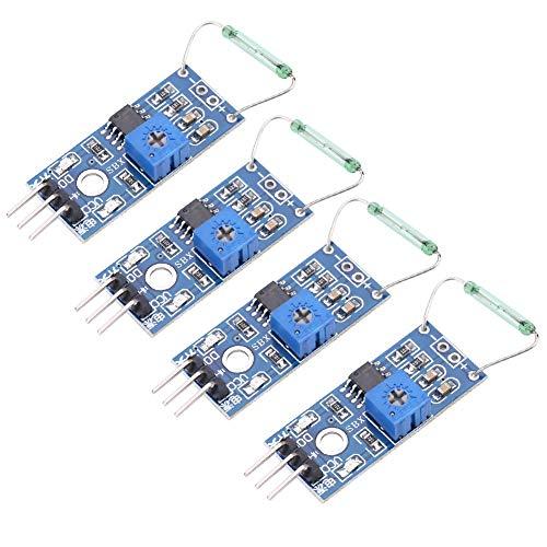 Reed-Modul - 4 Teile/Satz Reed-Sensor-Magnetschalter-Modul Diy Kit Schließer -