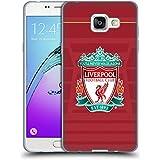 Officiel Liverpool Football Club Crête Maillot Domicile Kit 2016/17 Étui Coque en Gel molle pour Samsung Galaxy A5 (2016)