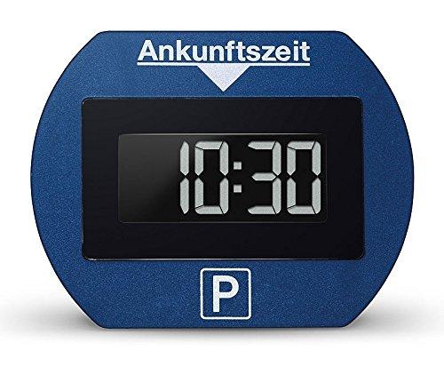 Preisvergleich Produktbild Needit PARK LITE 1411 Vollautomatische Parkscheibe, CR 2450 Knopfzelle inkl., blau