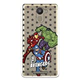 Official Avengers Transparent Star Background Case for BQ