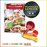 "Backhilfe ""Kinderleichte Becherküche"" - Leckere Backideen für Kinder - 4-tlg. Set"