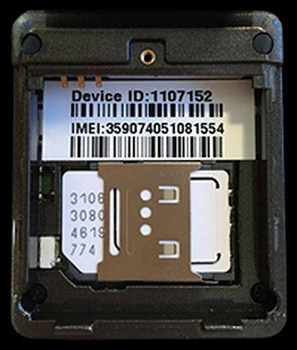 Trackimo GPS Tracker, Quadband mit SIM Karte und weltweitem Datendienst für 1 Jahr