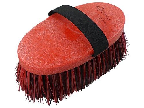 Haas Cepillos para caballos en rojo de Negro El Cepillo superbeliebte en caballo y jine