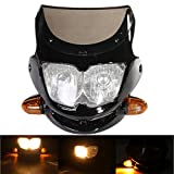Best Streetfighter Bikes - HITSAN INCORPORATION Motorcycle Dirt Bike Streetfighter Headlight Assembly Review