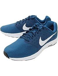 sale retailer cf57d b2a36 Nike Men s Navy Blue White Downshifter 7 Running Shoes 852459-301