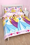 "Character World Double ""Disney Princess Enchanting"" Rotary Duvet Set, Multi-Colour"