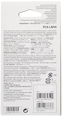 Sony Pck-lm14 Proteggischermo Compatibile Con La Fotocamera Slt-a99, Nero - sony - ebay.it