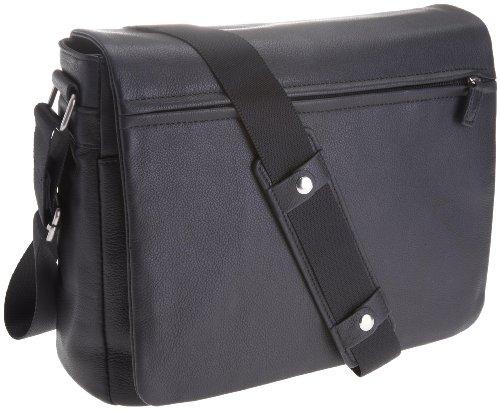 Leonhard Heyden  6601-001, Borse tascapane Nero (Schwarz)