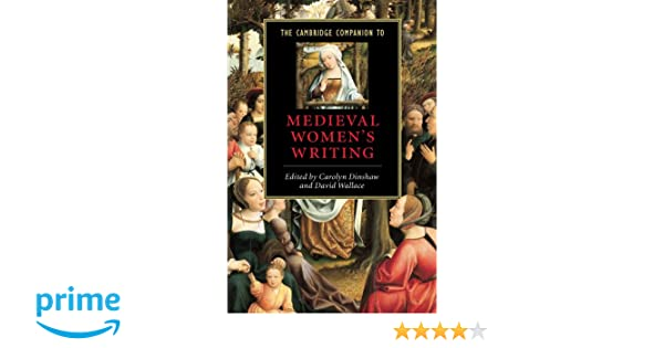 The Cambridge Companion to Medieval Womens Writing (Cambridge Companions to Literature)