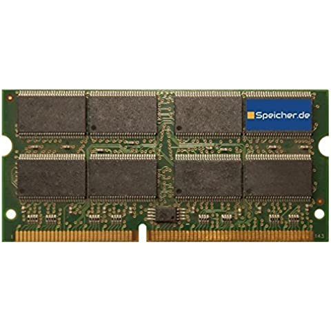 512MB módulo para Apple PowerBook G3 500 Firewire/Pismo (Early 2000) SD SO DIMM 133MHz PC133S