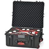 HPRC pha4–2700wcom de 01hprc2700W dure sac avec roulettes pour DJI Phantom 4Noir