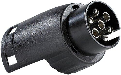 Adapter/Anhängerkupplung von 7-Pin Auto auf 13-Pin Anh.