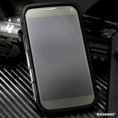 iPhone X Hülle, Cocomii Robot Armor NEW [Heavy Duty] Premium Belt Clip Holster Kickstand Shockproof Hard Bumper Shell [Military Defender] Full Body Dual Layer Rugged Cover Case Schutzhülle Apple (Black)