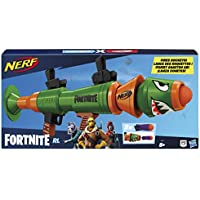 Nerf Fortnite RL Blaster -- Fires Foam Rockets -- Includes 2 Official Nerf Fortnite Rockets -- For Youth, Teens, Adults