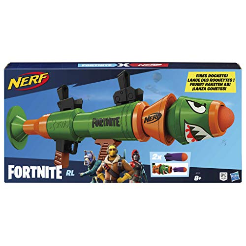 Nerf Fortnite RL et Flechettes Elite Officielles