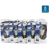 Aigostar - 182984 - pack de 5 bombillas led c5 p45b de 6 watios, casquillo fino (e14), 375 lumen y luz fria (6400k)
