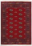 Nain Trading Pakistan Buchara 2ply 187x129 Orientteppich Teppich Rost/Dunkelrot Handgeknüpft Pakistan