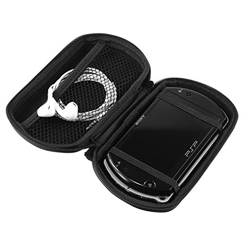 Common Byte For Sony Psp Go Zip Up Eva Anti Scrach Hard Travel Cover Case Pouch Bag Black