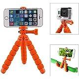 Fotopro–rm-95–Mini Stativ flexibel mit Halterung für Smartphone–Orange
