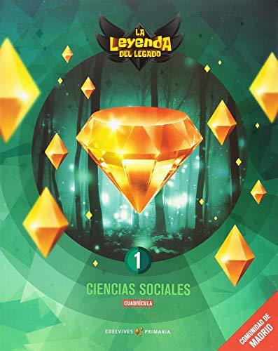Proyecto: La leyenda del Legado. Ciencias sociales 1 - Cuadrícula : Comunidad de Madrid