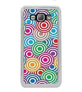 PrintVisa Designer Back Case Cover for Samsung Galaxy J1 (6) 2016 :: Samsung Galaxy J1 2016 Duos :: Samsung Galaxy J1 2016 J120F :: Samsung Galaxy Express 3 J120A :: Samsung Galaxy J1 2016 J120H J120M J120M J120T (art season star pattern disks)