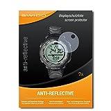 2 x SWIDO Pellicola Protettiva Suunto Vector Black Screen Protector Pellicola Protettiva Film 'AntiReflex' antiriflesso