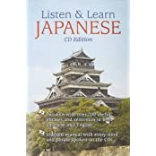 Listen & Learn Japanese [With Booklet]