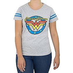 DC Comics Camiseta para mujer - Wonder Woman - Large